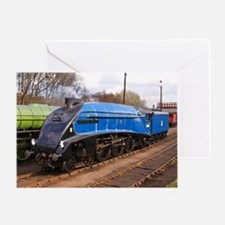 Sir Nigel Greasley - Steam Train Greeting Card
