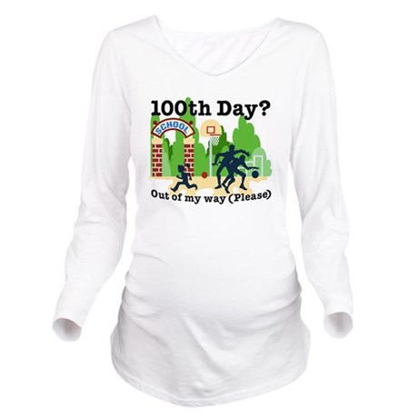 Out of my way Long Sleeve Maternity T-Shirt