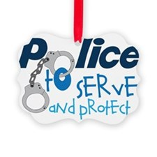 Serve And Protect Ornament