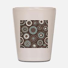 Circles Pattern Shot Glass