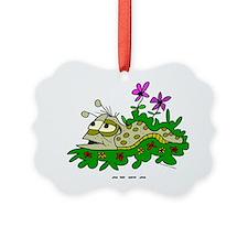 Cartoon Slug by Lorenzo Ornament
