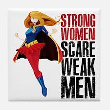 Supergirl Tile Coaster