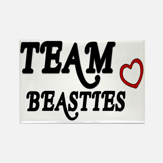 Team Beasties Rectangle Magnet