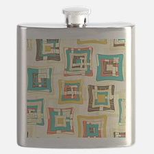 Stylish Square Pattern Flask