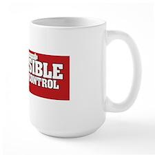 Be Sensible About Gun Control Sticker Mug