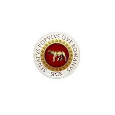 Roman design Mini Button