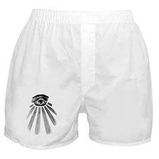 ALL SEEING EYE - BLACK Boxer Shorts