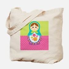 Matryoshka Blanket Tote Bag