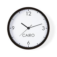 CAIRO World Clock Wall Clock