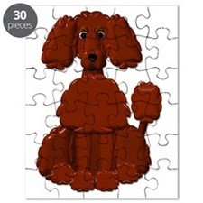 TINY POODLE PACK BROWN POODLE Puzzle