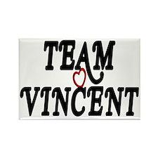 Team Vincent Rectangle Magnet