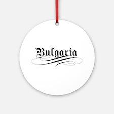 Bulgaria Gothic Ornament (Round)
