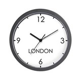 Time zone wall Wall Clocks