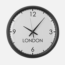 LONDON World Clock Large Wall Clock
