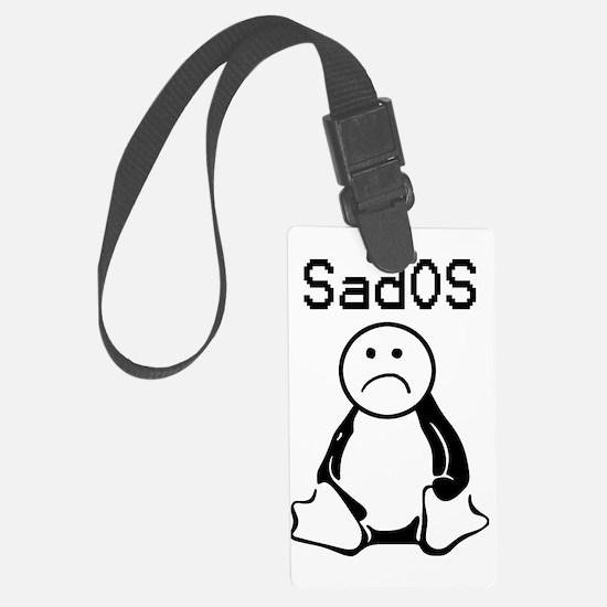 SadOS Logo (branded) Luggage Tag