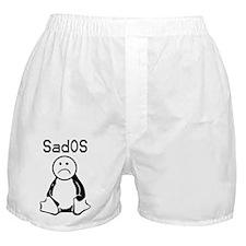 SadOS Logo (branded) Boxer Shorts