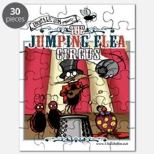 The Jumping Flea Circus Puzzle