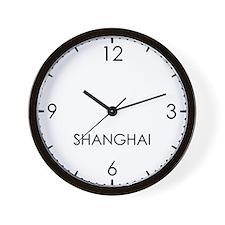 SHANGHAI World Clock Wall Clock