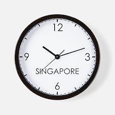 SINGAPORE World Clock Wall Clock