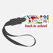Back To School Luggage Tag