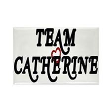 Team Catherine Rectangle Magnet