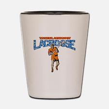 Lacrosse The Original American Sport Shot Glass