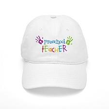 Preschool Teacher Baseball Baseball Cap