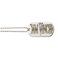 Team Vincent Glow Dog Tags