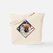 Chow Flag 2 Tote Bag