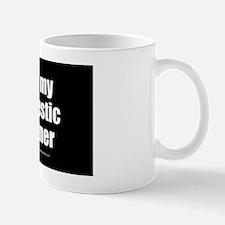 I Love My Domestic Partner wallpeel Small Mugs