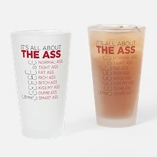 the ass Drinking Glass