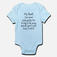 Aunt Guilty Personalized Body Suit