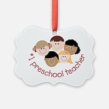 Preschool Teacher Ornament