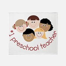 Preschool Teacher Throw Blanket