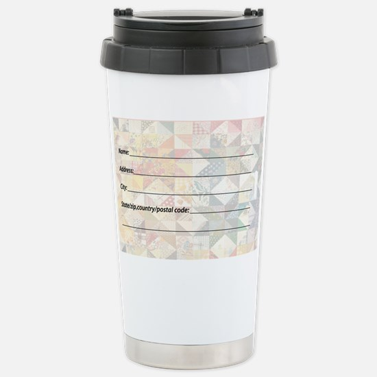 Large Luggage Tag A... Stainless Steel Travel Mug