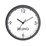 Beijing newsroom Basic Clocks