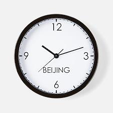 BEIJING World Clock Wall Clock