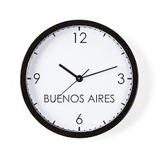 BUENOS AIRES World Clock Wall Clock