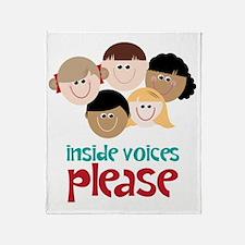 Inside Voices Please Throw Blanket