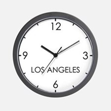 LOS ANGELES World Clock Wall Clock