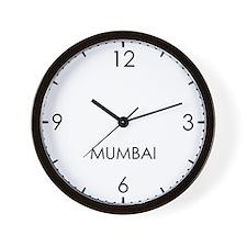 MUMBAI World Clock Wall Clock