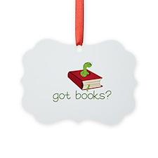 Got Books Ornament