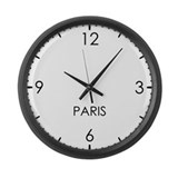 Paris Giant Clocks