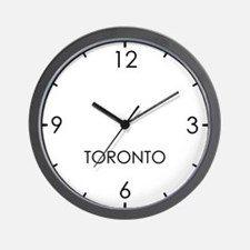TORONTO World Clock Wall Clock