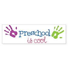 Preschool Is  Cool Bumper Sticker