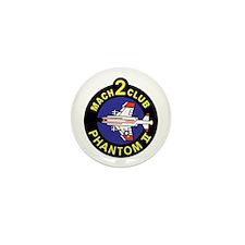 F-4 Phantom II Mini Button (10 pack)