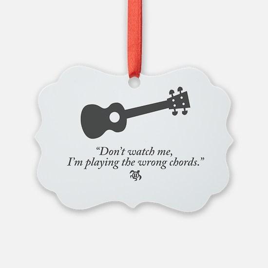 Wrong Chord Ornament