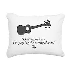 Wrong Chord Rectangular Canvas Pillow