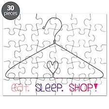 Eat Sleep Shop Puzzle