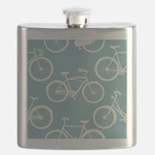 Cute Bicycles Flask